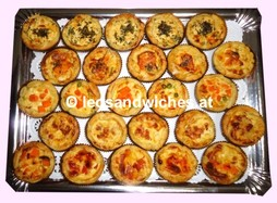 FFMQ101pA- PlattenBox- 25 Mini Quiches- Aktion